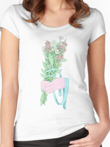 Bouquet (notext) Women's Fitted Scoop T-Shirt