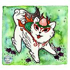 Amaterasu from Okami 01 by Jazmine Phillips