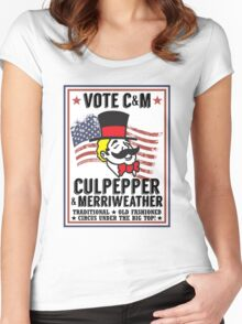 Vote 2016 Women's Fitted Scoop T-Shirt