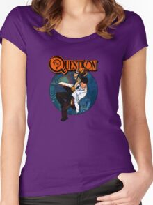 The Question Women's Fitted Scoop T-Shirt