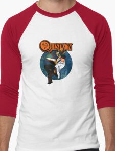The Question Men's Baseball ¾ T-Shirt