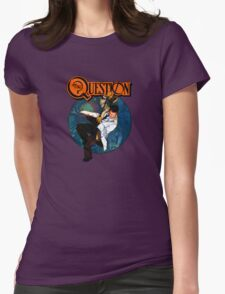 The Question Womens Fitted T-Shirt