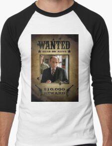 Buffy Principal Snyder Wanted Men's Baseball ¾ T-Shirt