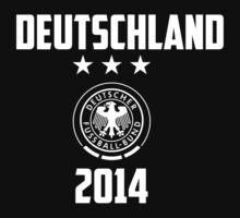 Germany (Deutschland) 2014 world cup soccer T-Shirt