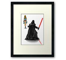 Vader Peak Framed Print