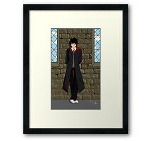 Pensive Potter Framed Print