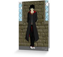 Pensive Potter Greeting Card