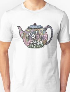 Tea Pot Head Unisex T-Shirt