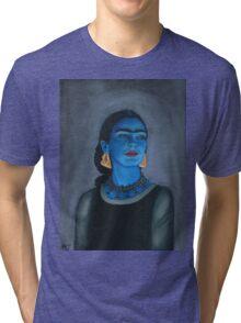 Blue Frida Tri-blend T-Shirt