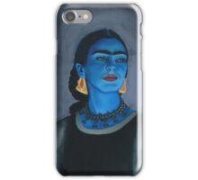 Blue Frida iPhone Case/Skin