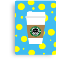 Hipster Coffee Canvas Print
