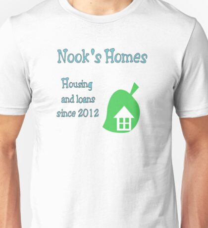 Nook's Homes Logo Unisex T-Shirt