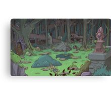 The Lost Village Canvas Print