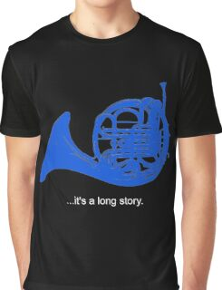 A Long Story Graphic T-Shirt