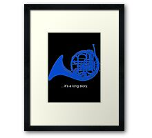 A Long Story Framed Print