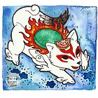 Amaterasu from Okami 04 by Jazmine Phillips