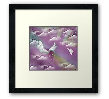 Butterfly Heaven Framed Print
