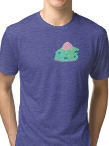 Sleeping Ivysaur Tri-blend T-Shirt
