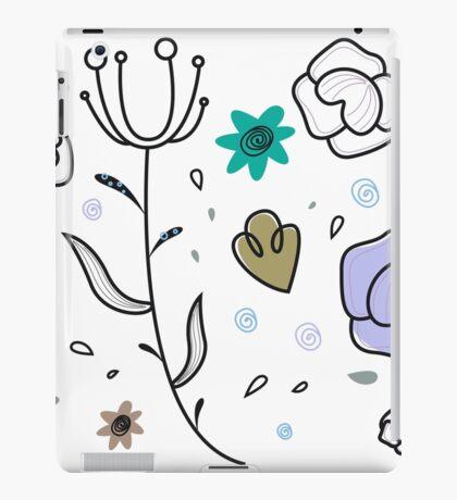 """Floral Metamorphosis"" - Just Original Artistic Piece! iPad Case/Skin"
