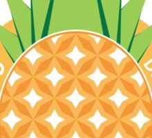 Be Crowned Pineapple Fruit Sticker