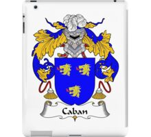 Caban Coat of Arms/Family Crest iPad Case/Skin