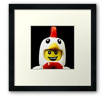 The Chicken Suit Guy Framed Print
