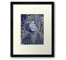 Buddha Asks Why 2 Framed Print