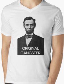 Abraham Lincoln Orignal Gangster Mens V-Neck T-Shirt