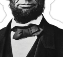 Abraham Lincoln Orignal Gangster Sticker