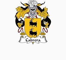 Cabrera Coat of Arms/Family Crest Unisex T-Shirt