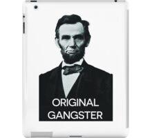 Abraham Lincoln Orignal Gangster iPad Case/Skin