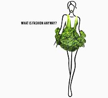 What Is Fashion Anyway? Broccoli. Womens Fitted T-Shirt