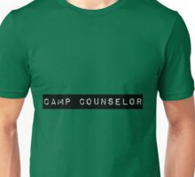 Camp Counselor Unisex T-Shirt