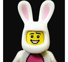 Lego Bunny Suit Guy Photographic Print