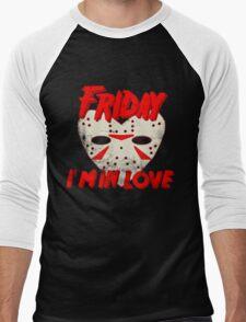 Friday I'm In Love Men's Baseball ¾ T-Shirt