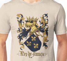 King of France Coat of Arms - Livro do Armeiro-Mor Unisex T-Shirt