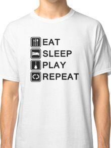 Guitar player life (black) Classic T-Shirt