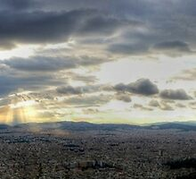 Athens Panorama by Vicki Spindler (VHS Photography)