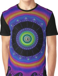 Fractal - Psychedelic Mathematics of the Infinite! Graphic T-Shirt