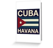 Cuba havana Greeting Card