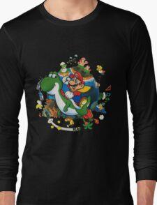 Super Mario World Long Sleeve T-Shirt