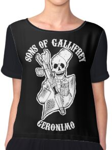 Sons of Gallifrey Chiffon Top