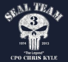 US Sniper Chris Kyle American Legend Kids Tee