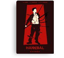 Hannibal 106: Entree Canvas Print