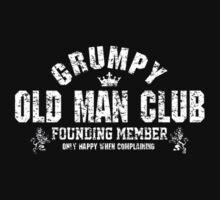 Grumpy Old Man One Piece - Short Sleeve