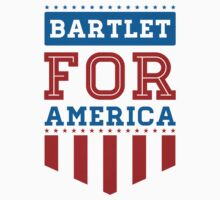 bartlet for america Kids Tee