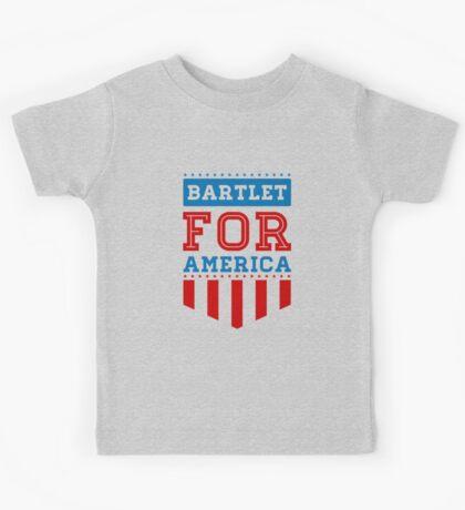 bartlet for america Kids Tee