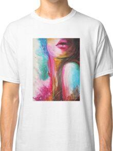 pink lips Classic T-Shirt