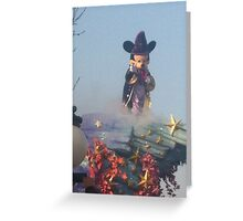 Magical Micky Mouse Greeting Card