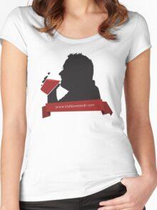 New Beer Snob - Silouhette Black Women's Fitted Scoop T-Shirt